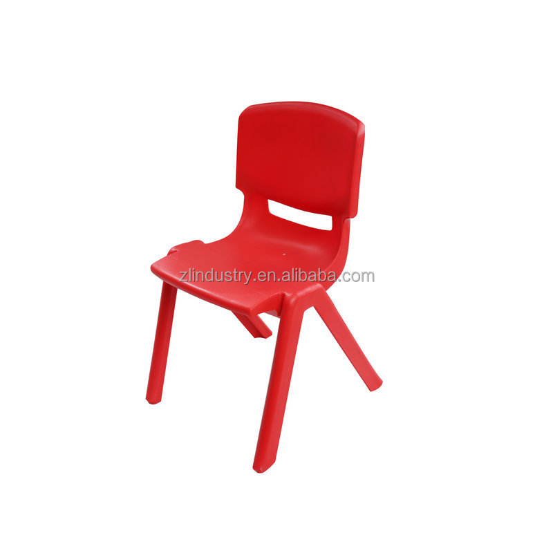 Stackable design cheap school comfortable colorful kid plastic chair