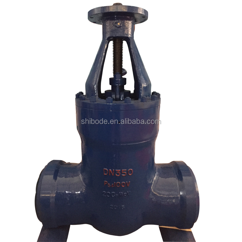 Factory Customized API 600 36 inch 600 lb gear operated flange stem gate valve From China