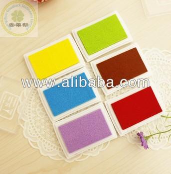 Square Lovely Craft Stamp Ink Pad Fingerprint