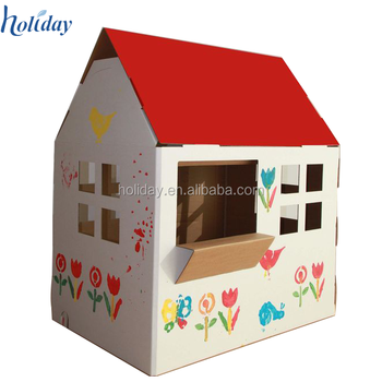 Custom Printed Diy Drawing Train Cardboard Children Playhouse For Children Buy Cardboard Playhouse Train Cardboard Playhouse Children Playhouse