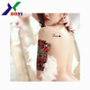 Hot Sale Non-toxic Customized Water Transfer Body Arm Chest Tattoo Sticker