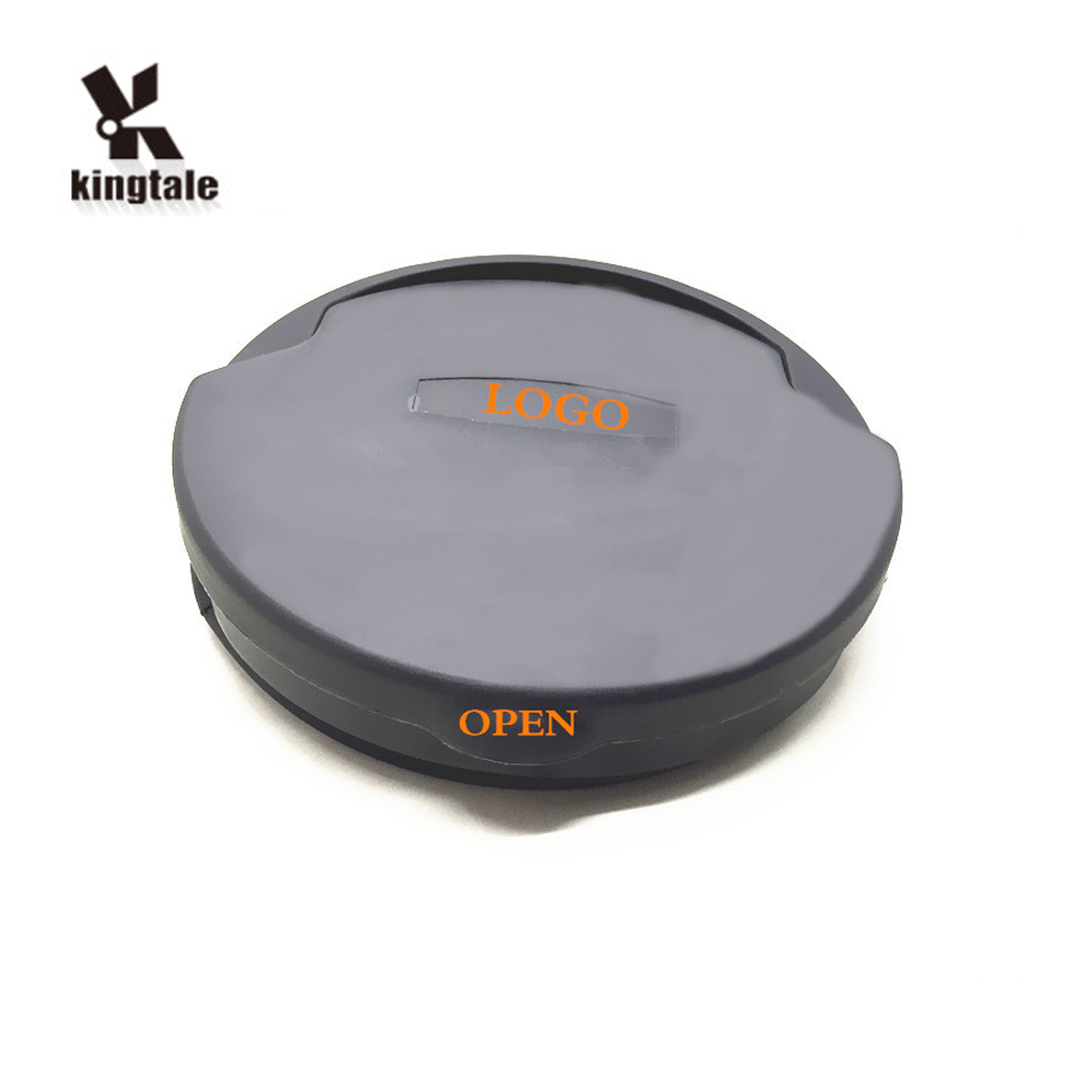 Kingtale Autos Universal Portable Leak Proof Faltbarer Pop-Up-Auto-Mülleimer Schwarze Tasche