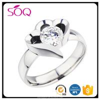 Engagement Wedding Semi Mount Diamonds Modern Ring 10K White Gold