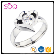 Engagement Wedding Semi Mount Diamonds Modern Ring 10K White Gold
