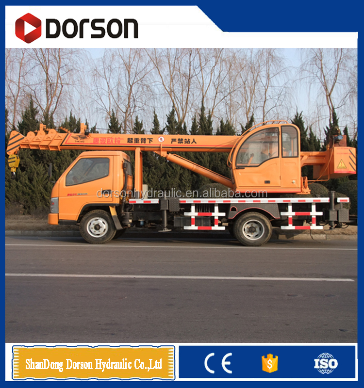 CHINESE FACTORIES 6 TONS MOBILE TRUCK CRANE