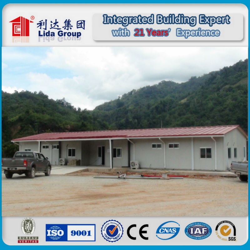 Prefabricated house building leading factory in China