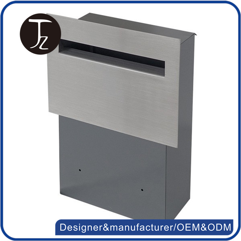 Casting Craftsman. metal mailbox factory design letterbox wall embedded stainless steel japanese mailbox