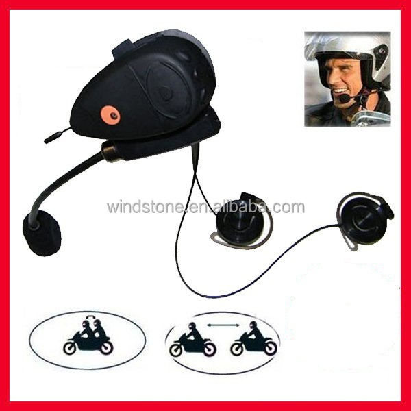 500M interphone Helmet bluetooth headset for motorcycle--BT-9082