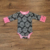 Ranch Theme Flutter Sleeves Fashion Baby Romper Cow Printing Boutique Infant Girl Romper