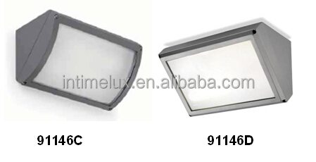 91146d-led Outdoor Under Eave Wall Light Fixture