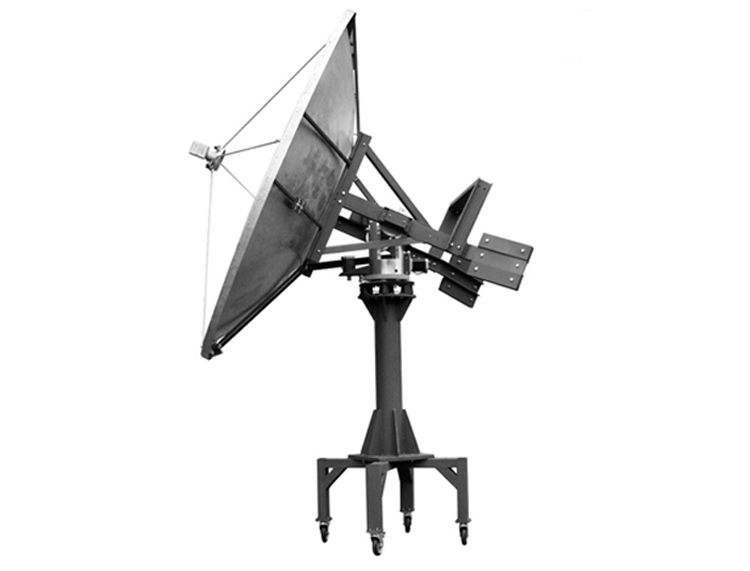 Ditel S241 240cm C and Ku band 3 axis big mobile marine satellite antenna TV auto antenna dish antenna  for boat