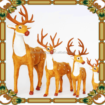 indoor and outdoor decoration animated christmas reindeer