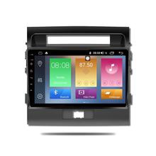 Iokone 9 Inch Touch Screen Android 9.0 Auto Radio GPS Navigasi untuk Toyota <span class=keywords><strong>Land</strong></span> Cruiser 2007-2015