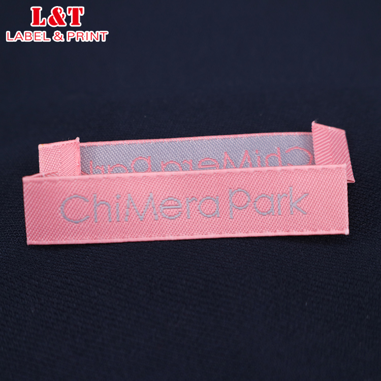 High Quality Custom Fancy Woven Or Print T Shirt Label