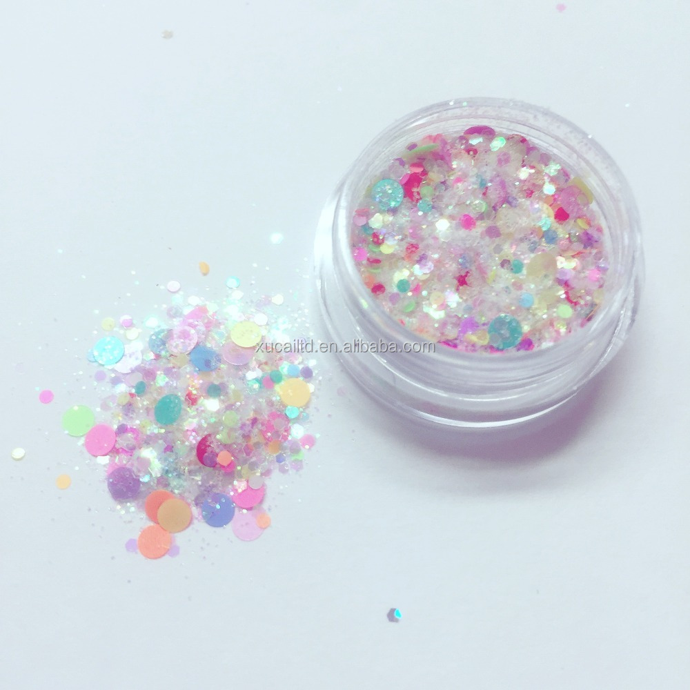 mixed glitter , PET glitter manufacturer