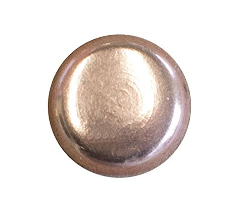 "100 QTY: C.S.Osborne & Co. No. 6940-CP 1/2 - Copper Plated Nail - Flat Head/ post : 1/2"" head: 7/16"" (mpn# 13720)"