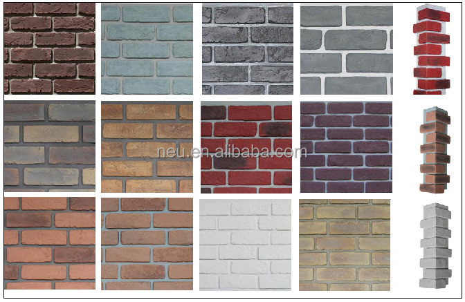 Lightweight And Easy Instal Interior Decoration Pu Faux Brick Wall ...