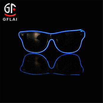 GFLAI Hot Sale Plastic party events Neon Party Glasses