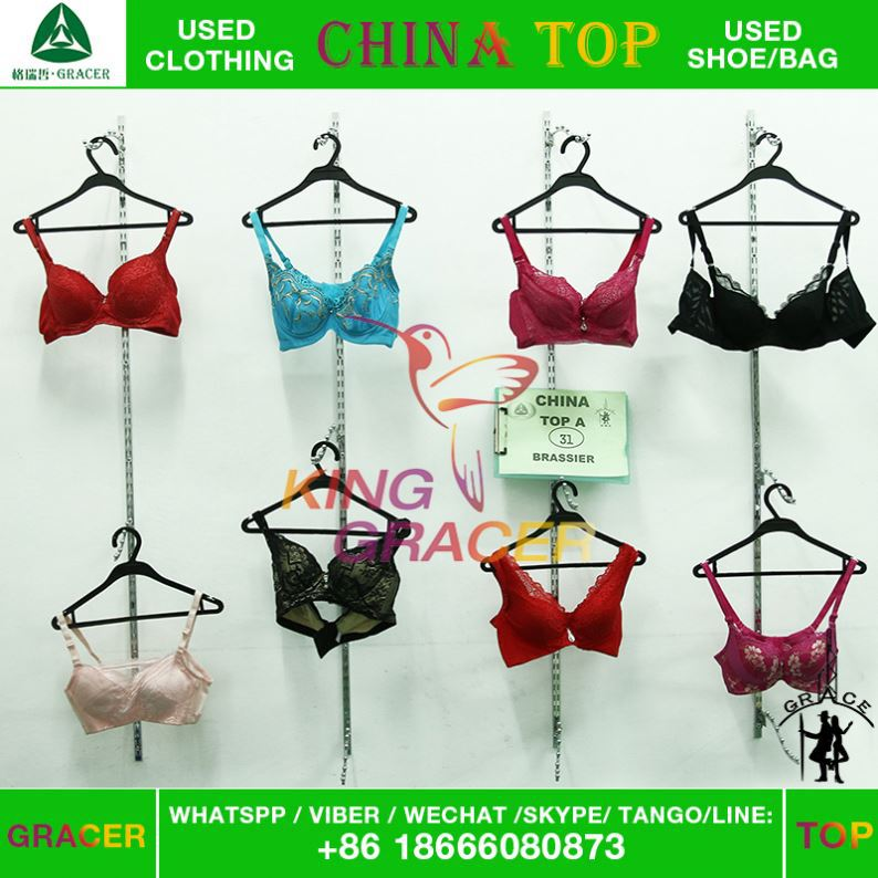 Low Price Clean Original Mixed Size Brassiere Underwear used clothing in bales miami style