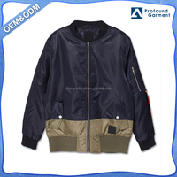 two tone color combination plus size cheap winter rich cotton coats for men 2016 and jackets online made in china new arrivals