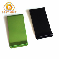 High Quality Cheap Metal Aluminum Blank Money Clip for Sale