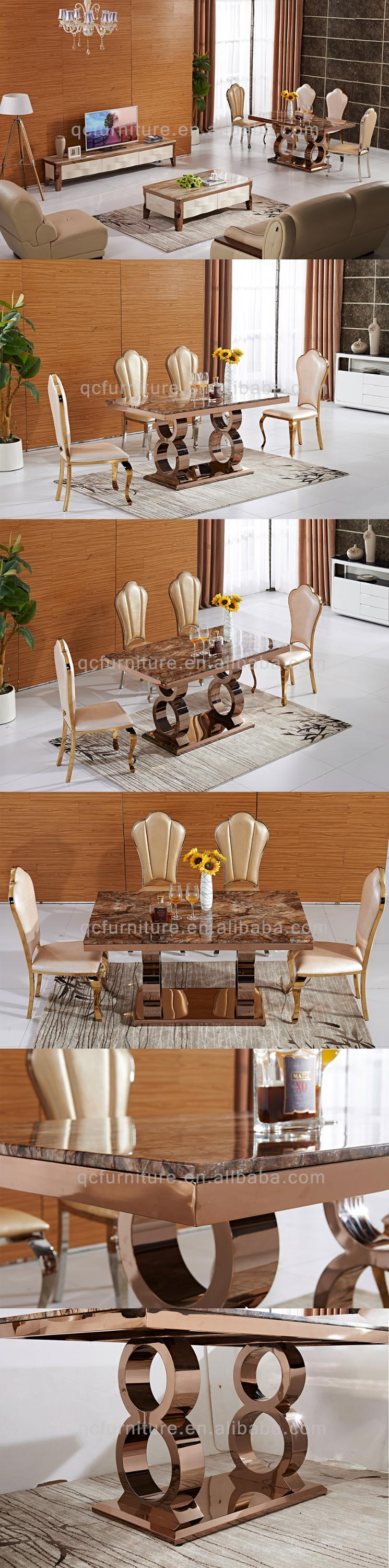 2017 New Design Modern Luxury Malaysia Marble Dining Table Set Buy