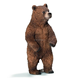 High Quality 1/6 Grizzly Bear Cub - Realistic Wildlife Action Figures/Custom model action figures China Factory