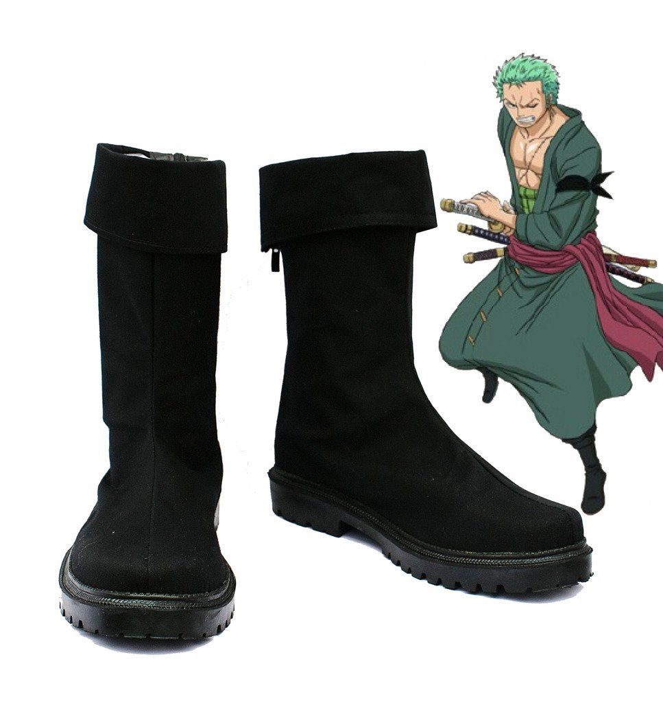One Piece Anime Roronoa Zoro Cosplay Shoes Cloth Boots Halloween