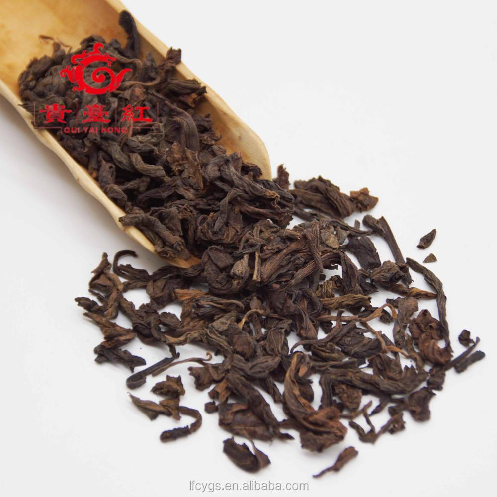 natural yunnan slimming loose pu-erh tea from china