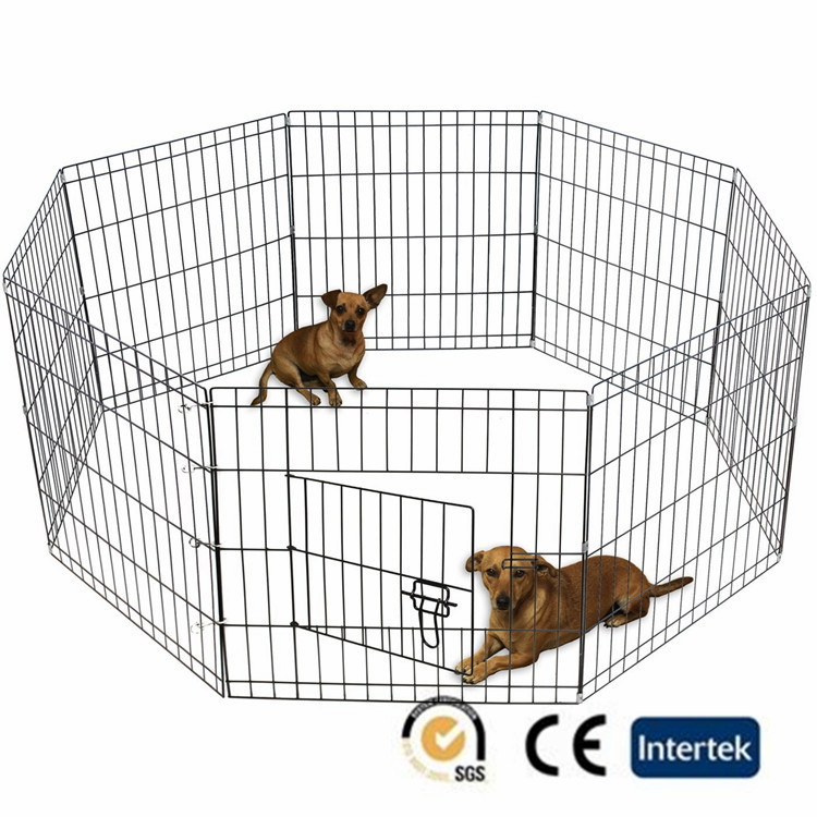 Welded wire panel Large outdoor galvanised welded pet enclosure/dog kennels & dog