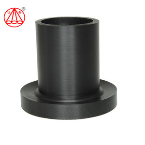 Jiangte pn10 hdpe pipe fitting stub end price pe100 flanges hdpe stub end