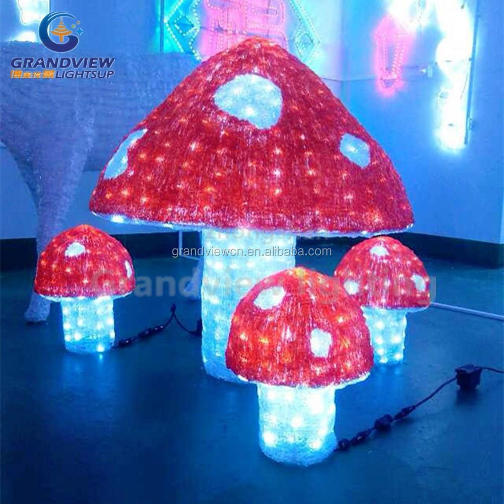 Outdoor mushroom lights outdoor lighting ideas led acrylic outdoor decoration mushroom lights aloadofball Choice Image