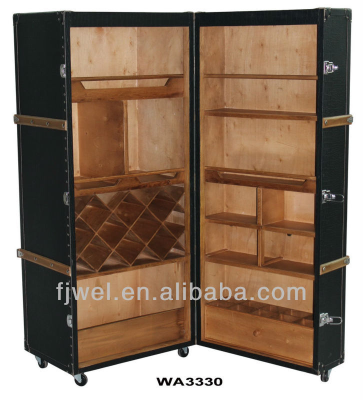 kabine r dern berseekoffer bar einrichtung der bar. Black Bedroom Furniture Sets. Home Design Ideas