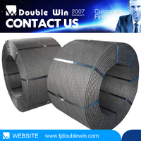 6X7+FC 6X19+FC and 6X37+FC Ungalvanized steel wire rope for Lifting Hoisting Drawing