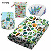 Diaper Fabric,100% Polyester Knitted PUL Fabric For Baby Colth Diaper