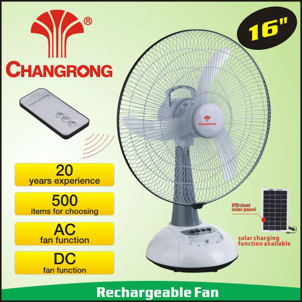 rechargeable table fan cover stock
