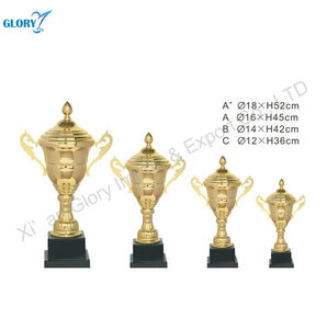 Gold Metal Sports Cup and Trophies