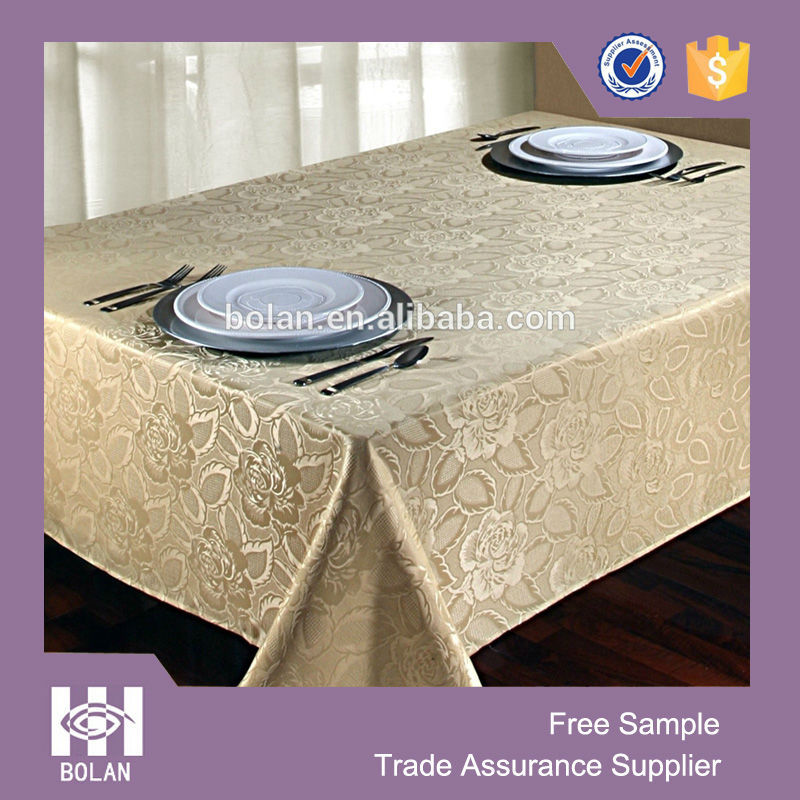Laura Rose Damask Table Cloth,Polyester Damask Tablecloth