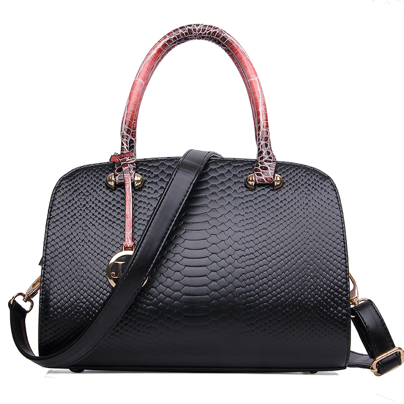 Fabra new women messenger bags women fashion quality leather bag lady embossed tote bags Shoulder bag women cross handbags