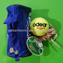 Tennis training equipment&set, elastic tennis ball with tennis machine