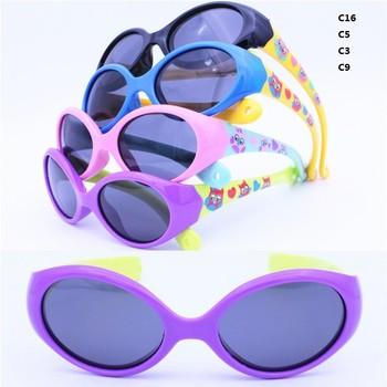 74ca072daa Gota de ventas infantil TAC polarizado lente ultra flexible de silicona  TPEE deportivas gafas de sol