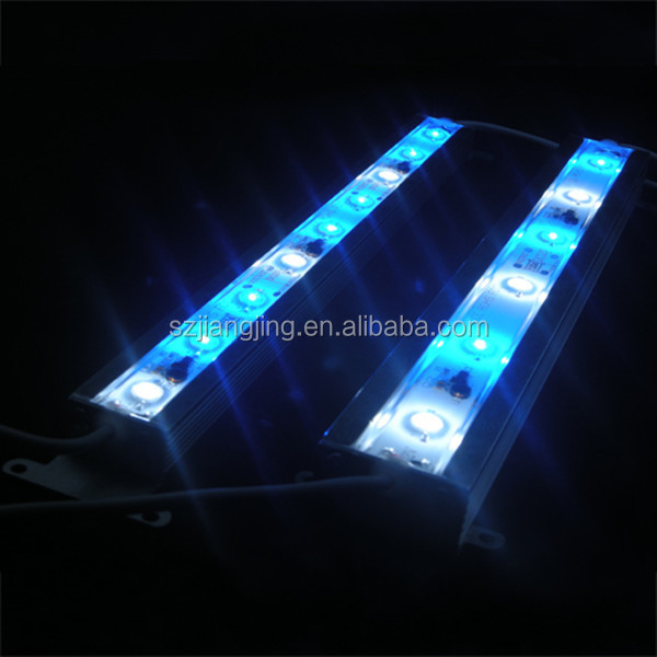 China supply OEM factory CE 15w vivarium led aquarium clip light sunrise/sunset/thunderstorm/moonligh