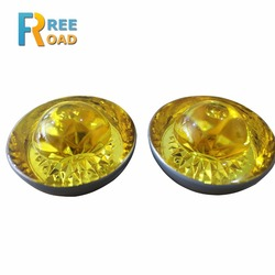 100mm road safety reflector cat eye tempered glass road stud