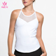 Custom Running Wear Mesh Racerback Dry Fit Workout Tank Top For Women