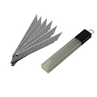 High Quality 9mm Snap Off Blade Sliding Carton Paper Cutter Knife Blade