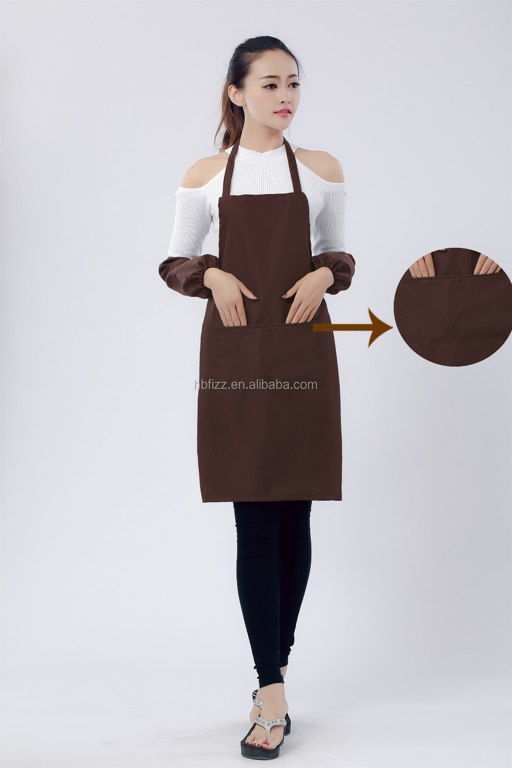 Hot 100% Polyester Fabric For Cleaning Apron