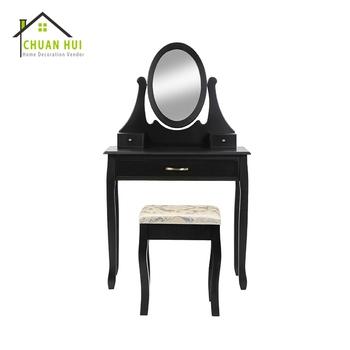 Günstige Moderne Vintage Schwarz Spiegel Schminktisch Auf Verkauf - Buy  Günstige Schwarz Dressing Tisch,Schwarz Vintage Dressing Tisch,Moderne  Schwarz ...