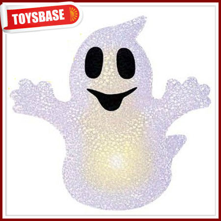 EVA doll,Halloween doll with single colour light