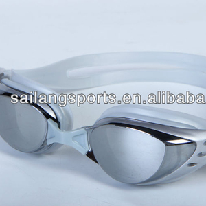 Wide visiton,mirrored swim goggles,high quality optical swimming goggles with oiled frame