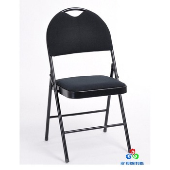 heavy duty metal upholstered padded folding chairs manufacturer